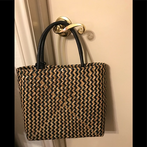 Ralph Lauren Handbags - Ralph Lauren Straw Purse